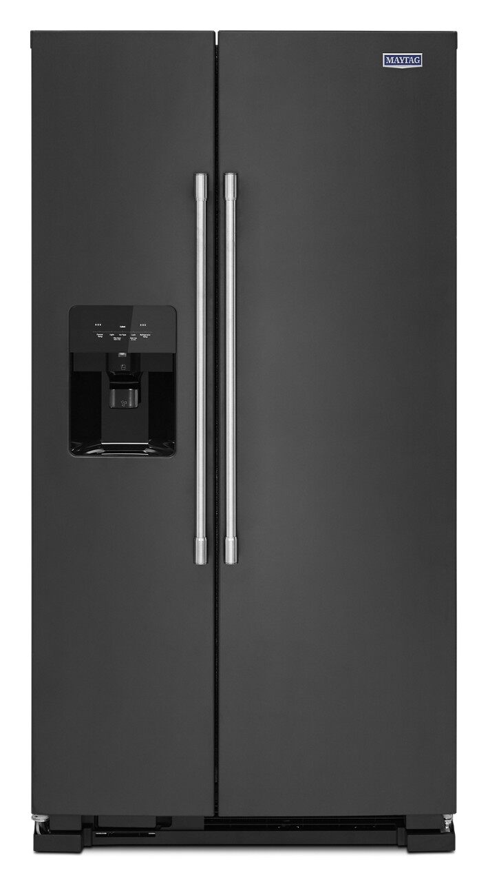36-Inch Wide Side-By-Side Refrigerator with Exterior Ice And Water Dispenser - 25 cu. Ft. (MSS25C4MG)