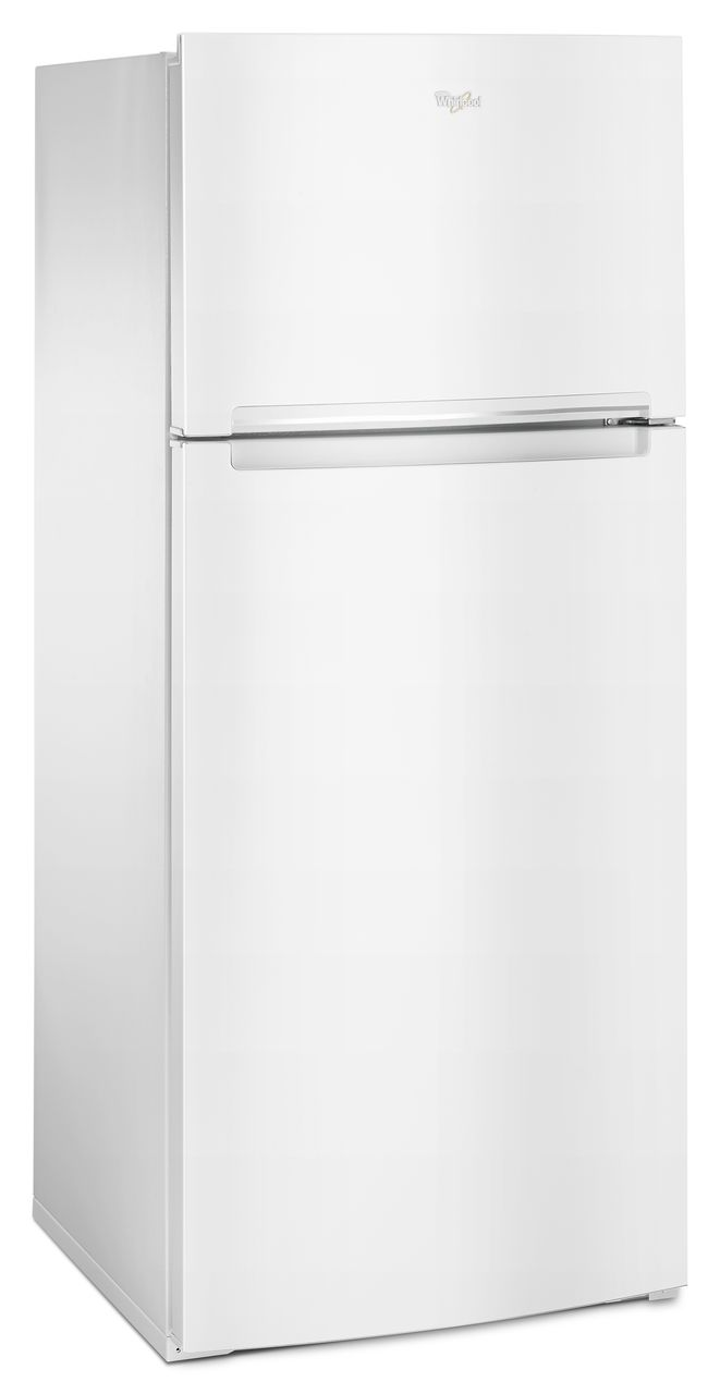 Whirlpool® white 28-inch Wide Refrigerator Compatible With The EZ Connect Icemaker Kit