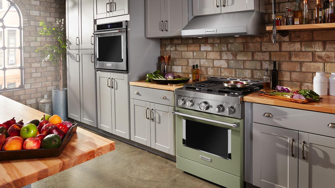 KitchenAid-Commercial-Range_Avocado-Cream
