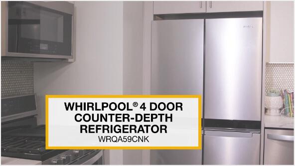 Introducing the Whirlpool® Counter-Depth 4-Door Refrigerator