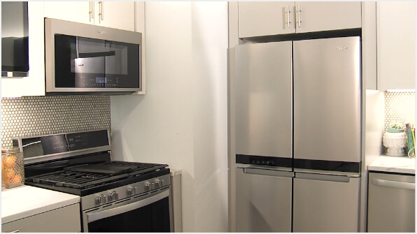 Learning about the Whirlpool® 4-Door Refrigerator