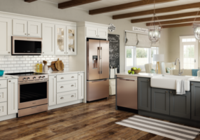 Whirlpool Corp. Smart Kitchen Suite Sunset Bronze